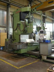 DROOP + REIN Senkrecht-CNC-Fräs- und Bohrmaschine, Type FSM1406