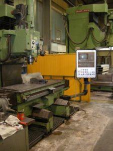 DROOP + REIN Senkrecht-CNC-Fräs- und Bohrmaschine, Type FS100NBW